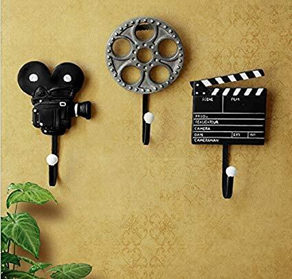 Film Equipment Wall Hooks