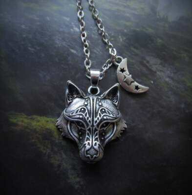 Mystic Wolf Necklace