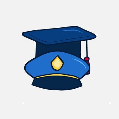 police graducation gifts graphic