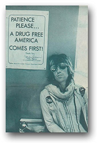 Rolling Stones Keith Richards Poster