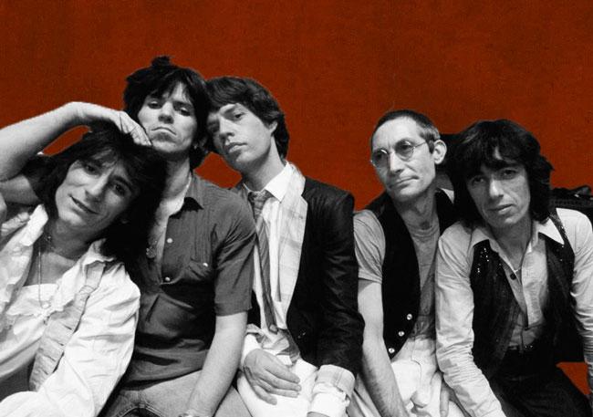 rolling stones magazine cutout