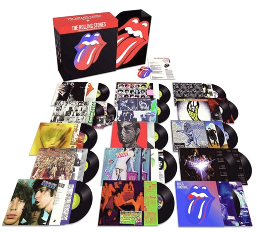 The Rolling Stones Studio Album Collection