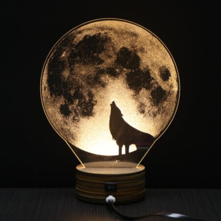Wolf Nightlight