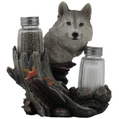 Wolf Salt And Pepper Shaker Holder